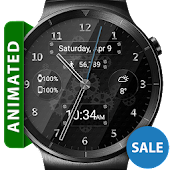 Black Glass HD Watch Face APK for Ubuntu