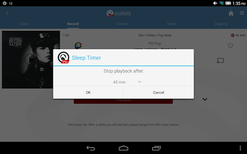 Free Download Radio Player by Audials APK for Blackberry