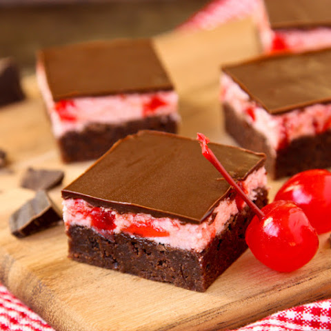 Cherry Cordial Brownies