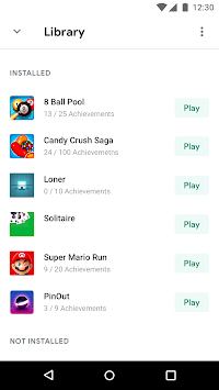 Google Play Games APK screenshot thumbnail 2