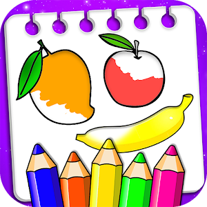 Fruits Coloring Book & Drawing Book For PC (Windows & MAC)