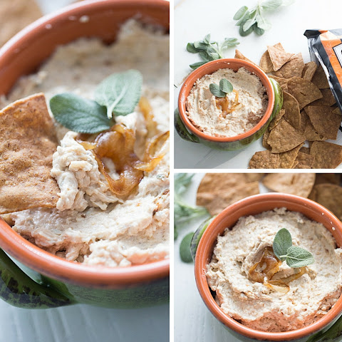 Sage, Caramelized Onion and Gruyere Cheese Dip