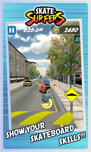 Skate Surfers Free screenshot 13