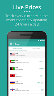 Cuex - Live Currency Exchange screenshot for Android