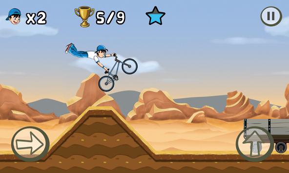 BMX Kid (BMX Boy) apk screenshot