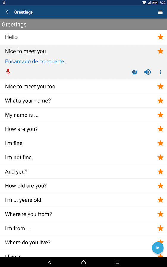 Phrasebook - Learn Languages Screenshot 6