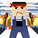 Battle Pixel Shooting Gun 3D ROYAL Icon