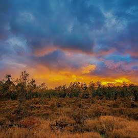 Mystical sunset by George Varkanis - Landscapes Sunsets & Sunrises ( sunset sunrise sky photography photogrpher nikon amazing beautiful )