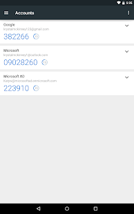 Microsoft Authenticator Business app for Android Preview 1