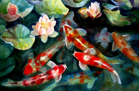 Koi Fish Live Wallpaper - screenshot