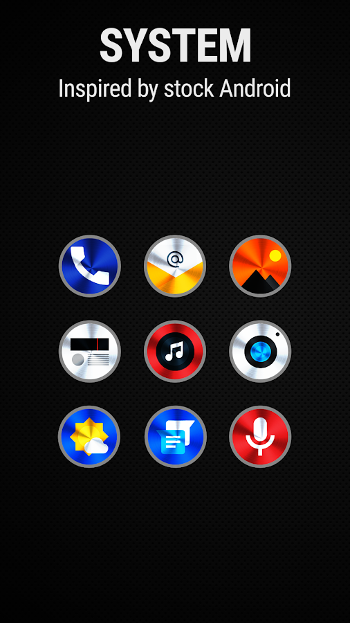 Vivid 2 Icon Pack Screenshot 2