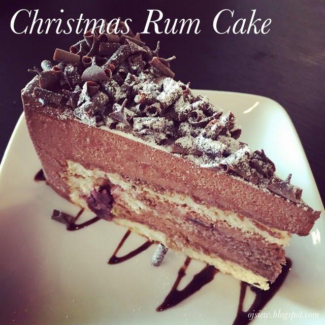Christmas Rum Cake @ Piccolo Cafe - Malaysia Food & Restaurant Reviews