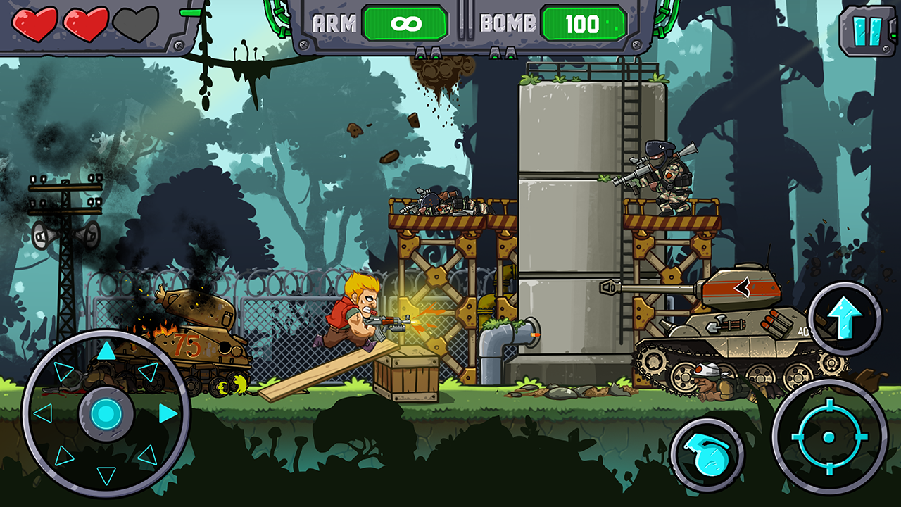 Metal Shooter: Super Soldiers Screenshot 4