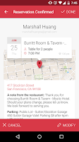 Screenshot of OpenTable - Free Reservations