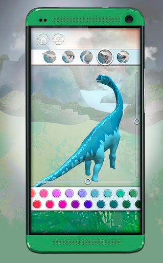 Dinosaurs 3D Coloring Book screenshot 3