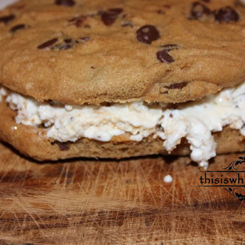Chocolate Chip Ice Cream Sandwich