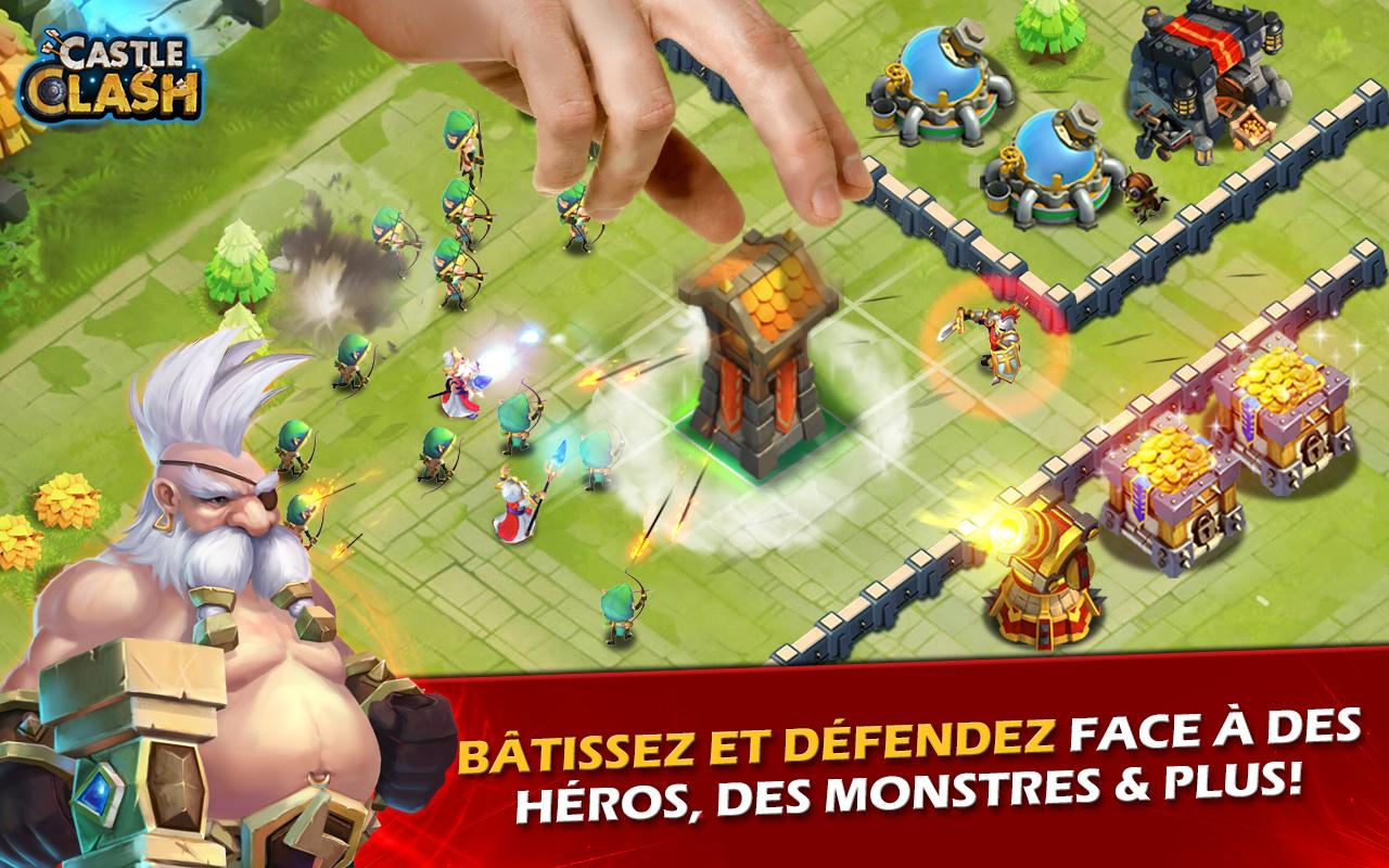 Castle Clash: Ère des Légendes Screenshot 1