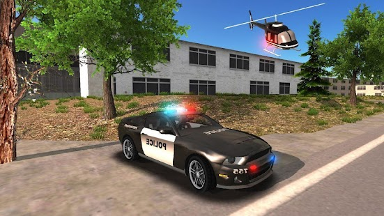 Police Car Offroad Driving