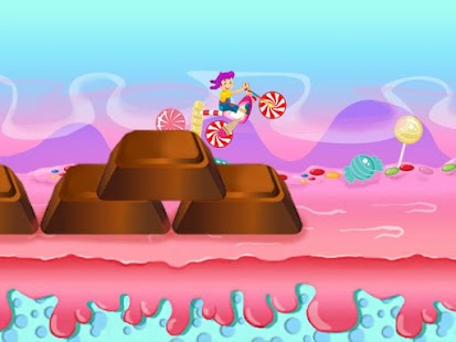 Candy Motocross Crash- screenshot thumbnail