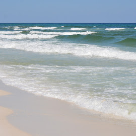 Great Waves by Kayla House - Landscapes Beaches ( water, sand, waves, ocean, beauty, beach, sandy, sun, sandy beaches, beaches, vacation, great, florida, sunny, summer )