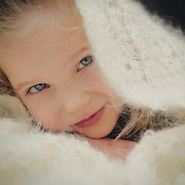 White blanket by Lucia STA - Babies & Children Child Portraits (  )