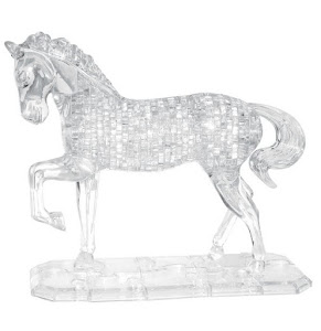 3D Crystal Puzzle Лошадь XL