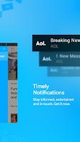 Screenshot of AOL: Mail, News & Video