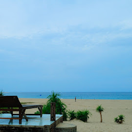 Lampuuk Beach, Banda Aceh - Indonesia  by Ya Ser Lubis - Landscapes Beaches ( relax, tranquil, relaxing, tranquility )