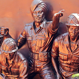 March on boys! by Pradeep Kumar - Artistic Objects Other Objects