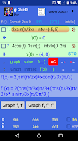 Screenshot of Graphing Calculator