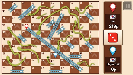 Game Snakes & Ladders King apk for kindle fire
