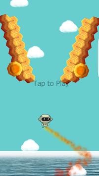 flying robot apk screenshot