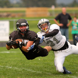 Almost by Loren Orr - Sports & Fitness American and Canadian football ( idaho, high school, football )