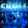 App Flaming Skull keyboard Theme APK for Windows Phone