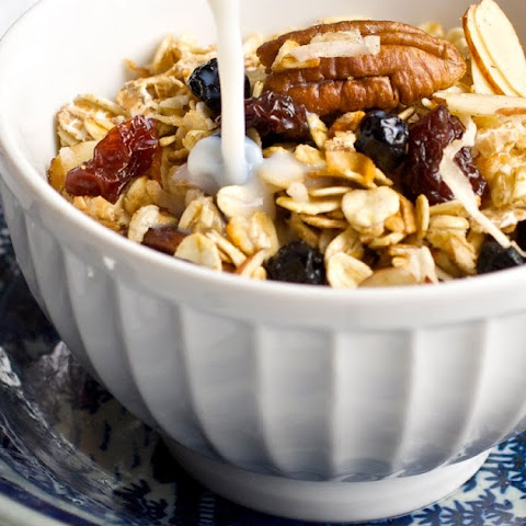 Cherry Almond Low Fat Granola
