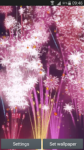 New Year Live Wallpapers - screenshot