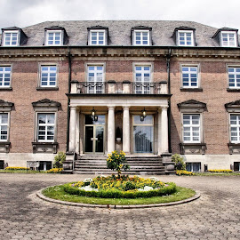 Alfred Krupp foundation by Anita Berghoef - Buildings & Architecture Public & Historical ( essen, building, villa hügel, architectural, germany, historical, architecture, alfred krupp foundation )