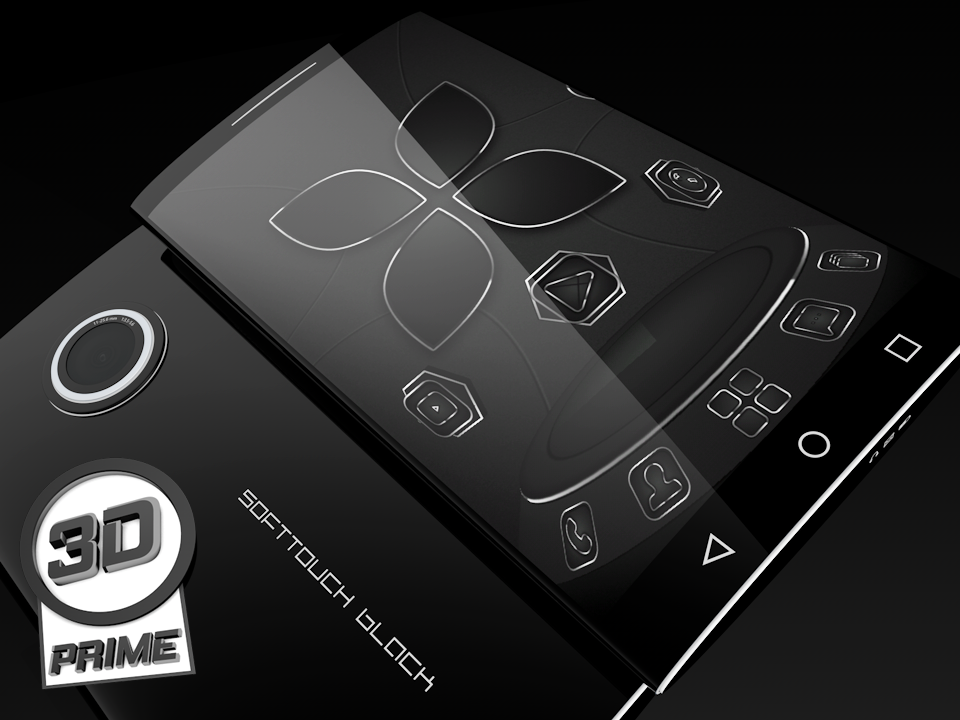 SoftTouch Black - Next Theme Screenshot 0