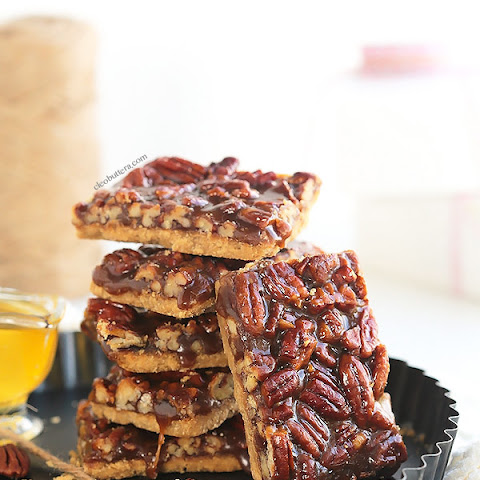 Addictive Pecan Pie Bars