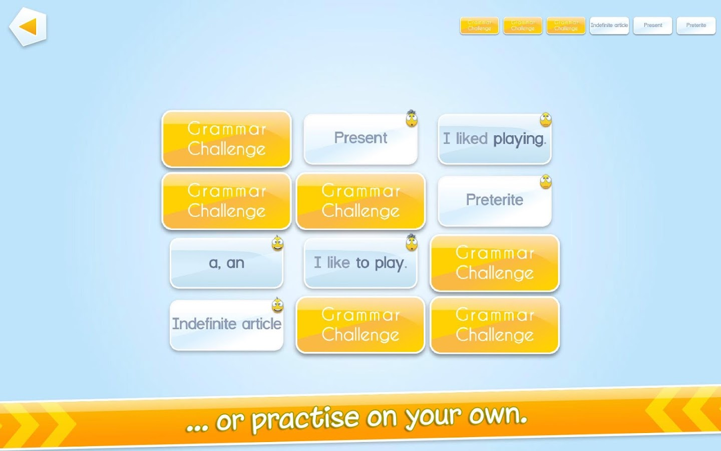 Grammar Challenge Screenshot 5