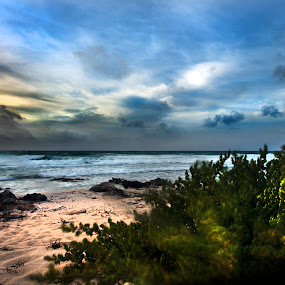 Wild beach by Cristobal Garciaferro Rubio - Landscapes Weather ( shore, clouds, waterscape, sunset, cozumel, sea, sunrise, riviera maya, rocks )