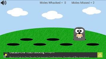 Screenshot of Whack A Mole