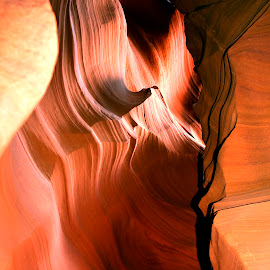 Antelope Canyon by Stanley P. - Landscapes Caves & Formations ( rocks, formation )