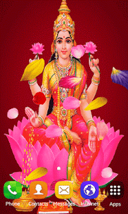 Lakshmi Maa Live Wallpaper - screenshot
