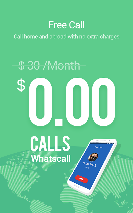WhatsCall - Free Global Calls Screenshot 0