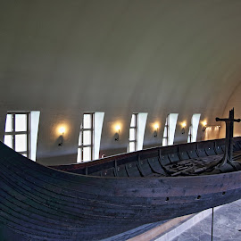 Viking ship in oslo by Mona Martinsen - Buildings & Architecture Statues & Monuments