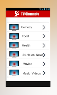 Live TV Channels China - Free - screenshot