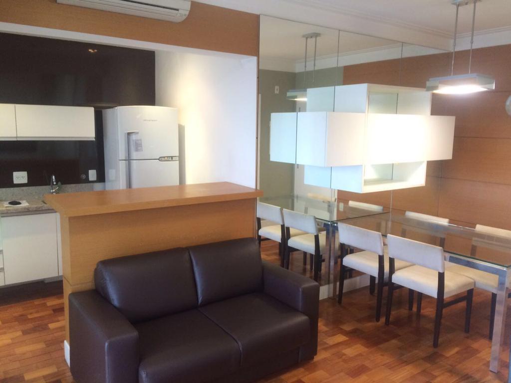 Flat residencial para locação, Vila Nova Conceição, São Paulo.