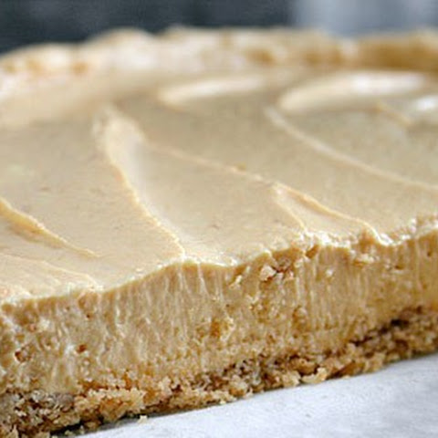 Skinny No-Bake Pumpkin Cheesecake