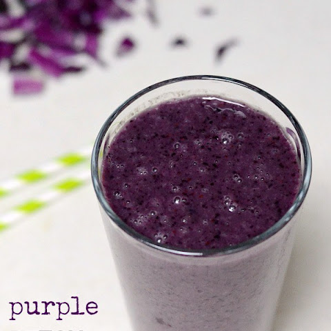 Purple Detox Smoothie